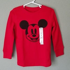 Mickey Mouse Shirt **New w/ Tags** Toddler Boys